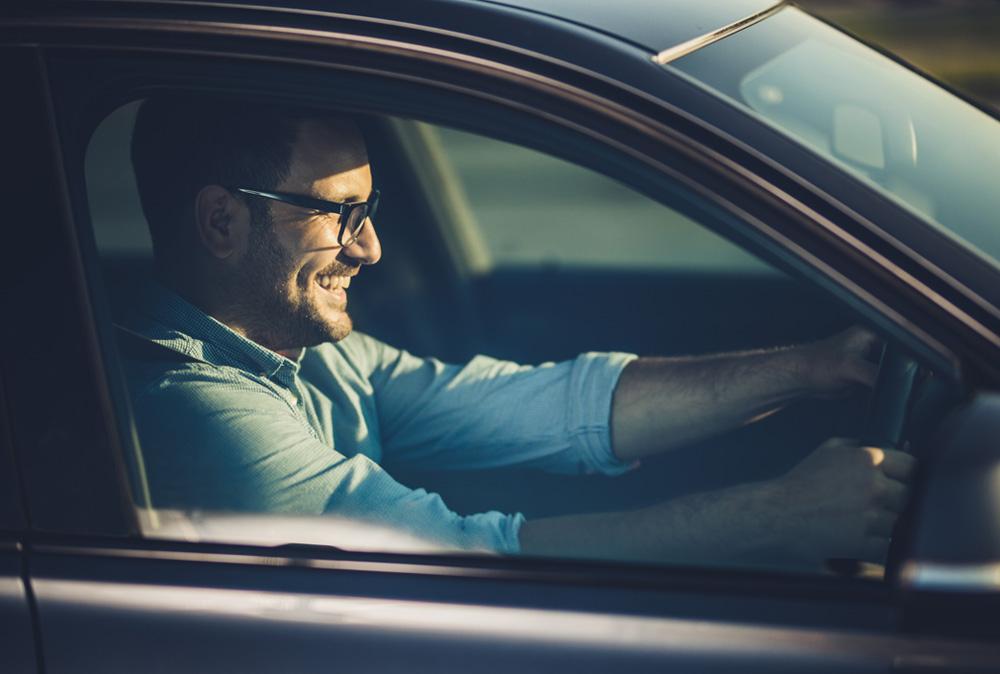 Autobrille für sicheres Fahren